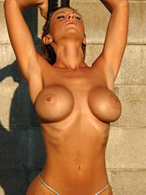 Tania Tapia Big Boobs in Sunlight