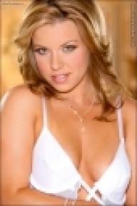 Kerie Hart Strips Topless In Lingerie