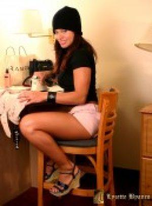 Lyzette Byanco in Her Hotel Room